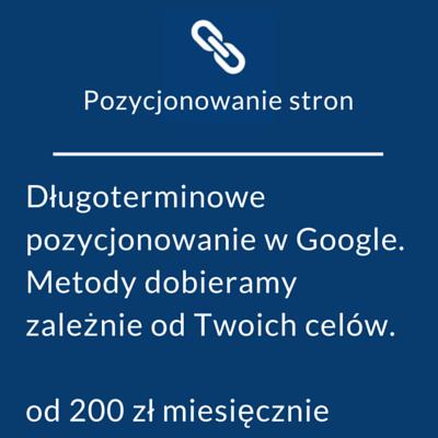 pozycjonowanie stron Gdańsk