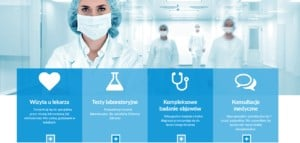 oferta medyczna na stronie www 2