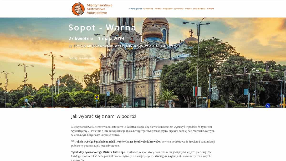 strony internetowe dla organizacji i stowarzyszen