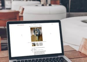 dwujezyczna strona internetowa dla artystów