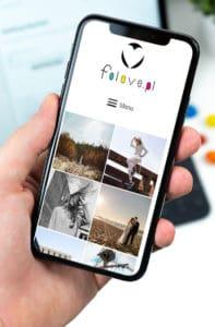 responsywna strona internetowa dla fotografa