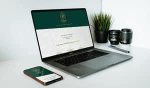 strona internetowa dla agencji eventowej