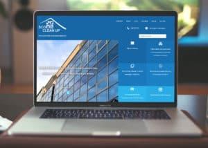 strona internetowa dla firmy sprzatajacej