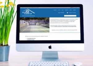 strona internetowa dla firmy uslugowej Gdynia