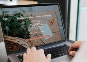 strona internetowa dla pracowni graficznej i papeterii slubnej