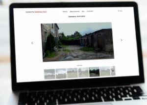 strona www dla artystow Trojmiasto Brandrei