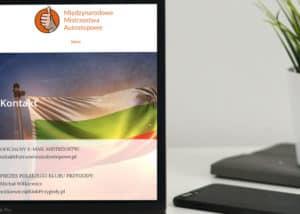 strona www dla NGO