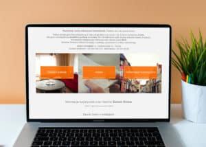 strona www dla pokojow goscinnych i hoteli