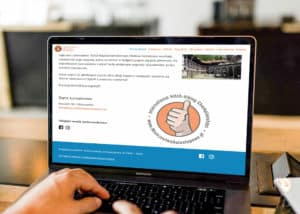 strony www dla organizacji pozarządowej