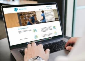 wykonanie strony internetowej dla firmy sprzatajacej